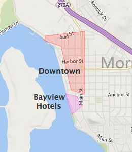 Morro bay ca hotels motels see all discounts for Pet friendly hotels near hearst castle