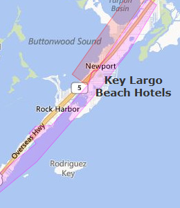 Key Largo Beach Hotels  Key Largo Florida FL