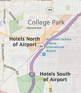 College Park Hotels Near Atlanta Airport And I 285