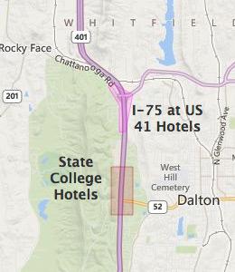 Dalton Hotels Near I 75 At Us 41 Dalton Georgia Ga