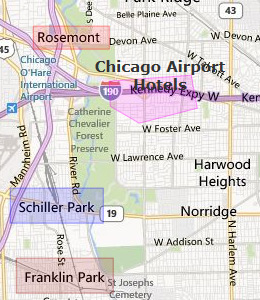 how to get to o hare from downtown chicago