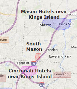 Hotels Near Kings Island Cincinnati Ohio