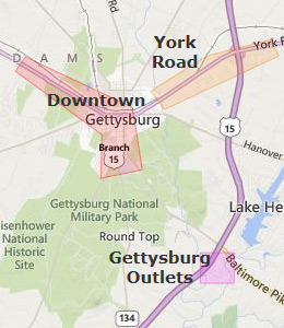 Map of Gettysburg, PA Hotels | HotelGuides.com Gettysburg Pa Map on gettysburg map day 1, gettysburg street map, vicksburg mississippi map, gettysburg on usa map, gettysburg nj map, gettysburg college map, gettysburg road, cemetery hill gettysburg battle map, gettysburg pennsylvania, gettysburg historical map, battle of gettysburg map, gettysburg and surrounding area, gettysburg war map, gettysburg campaign map, gettysburg pickett charge battle map, gettysburg md map, gettysburg maps printable, gettysburg map 1863, pittsburgh map, gettysburg trolley map,
