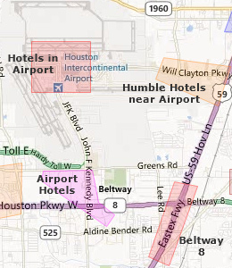 Bush Airport Hotels