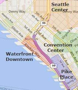 Hotels Near  Convention Place Seattle Wa