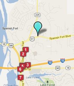 Cheap Motels In Daphne Alabama