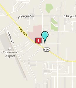 Map of Cottonwood, AZ hotels