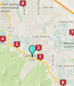 Cathedral City Hotels Motels