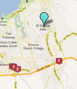 Llc El Dorado Ca Map of El Dorado Hills
