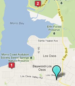 Los Osos California Map Ca Hotels Motels See All S
