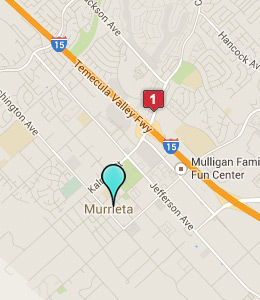 Map of Murrieta, CA hotels