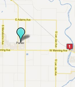 Map of Parlier, CA hotels