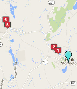 Map of North Stonington, CT hotels