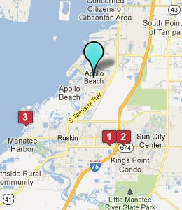 City Map Apollo Beach Fl