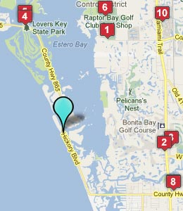 map bonita beach fl hotels 260Ã 300 pixels luxury homes