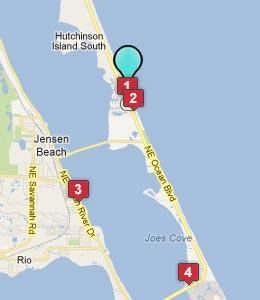Hutchinson Beach Florida Map The Best Beaches In World