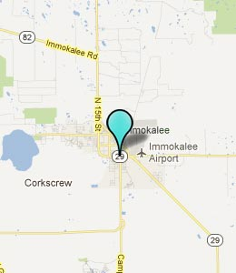 Map of Immokalee, FL hotels