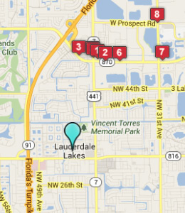 Fort Lauderdale International Airport. Hotels near by