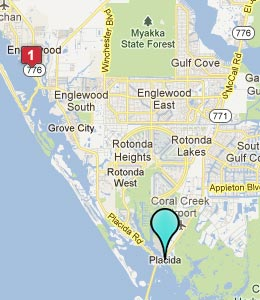 Map of Placida, FL hotels