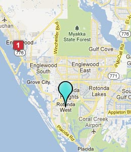 Map of Rotonda, FL hotels
