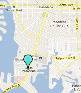 Map of South Pasadena, FL hotels