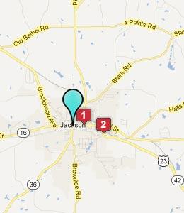 Map Jackson Ga Swimnovacom - Jackson georgia map