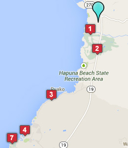 Map of Kohala Coast, HI hotels
