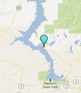 Map of Harrison, ID hotels