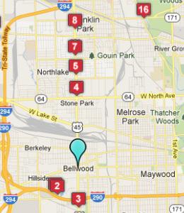 Restaurants Near Bellwood Il