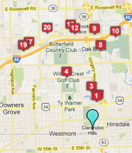 Hotels motels near clarendon hills il see all discounts for 6 transam plaza dr oakbrook terrace il 60181