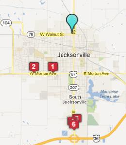 Motels In Jacksonville Il