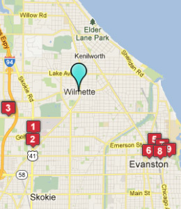 Hotels Near Wilmette Il