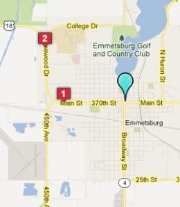 Emmetsburg iowa hotels motels see all discounts for Motor inn of algona inc algona ia