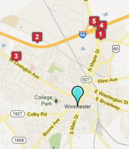 Hotels Near Winchester Medical Center Va