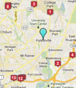 Hotels Near Fedex Field Hyattsville Md