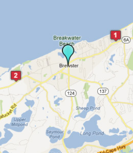 Map of Brewster, IN hotels