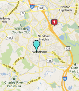 Map of Needham, IN hotels