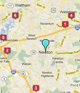 Map of Newton, IN hotels