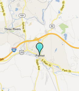 Map of Palmer, IN hotels
