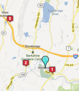 Map of Stockbridge, IN hotels