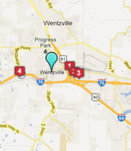 Wentzville Mo Hotels Amp Motels See All Discounts