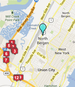 Campus Map Fordham.Fordham University Map Bellissimonyc Com