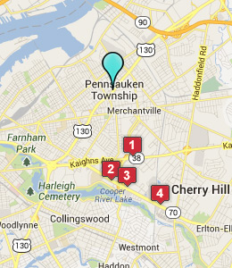 Pennsauken NJ Map