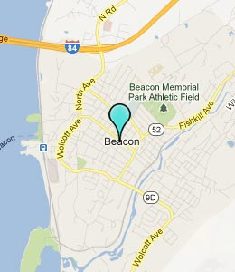 Map of Beacon, NY hotels