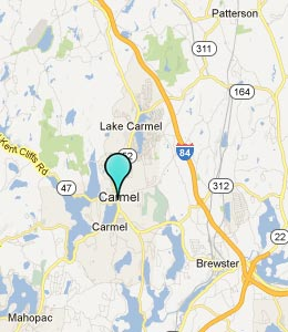 Map of Carmel, NY hotels
