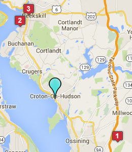 Map of Croton-on-Hudson, NY hotels