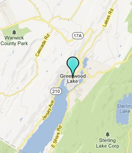 Map of Greenwood Lake, NY hotels