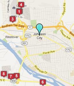 Johnson city ny hotels motels see all discounts for A pet salon vestal ny