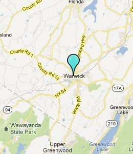 map of warwick new york aouo