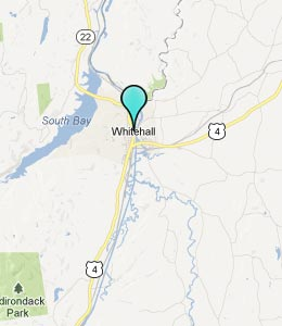Map of Whitehall, NY hotels